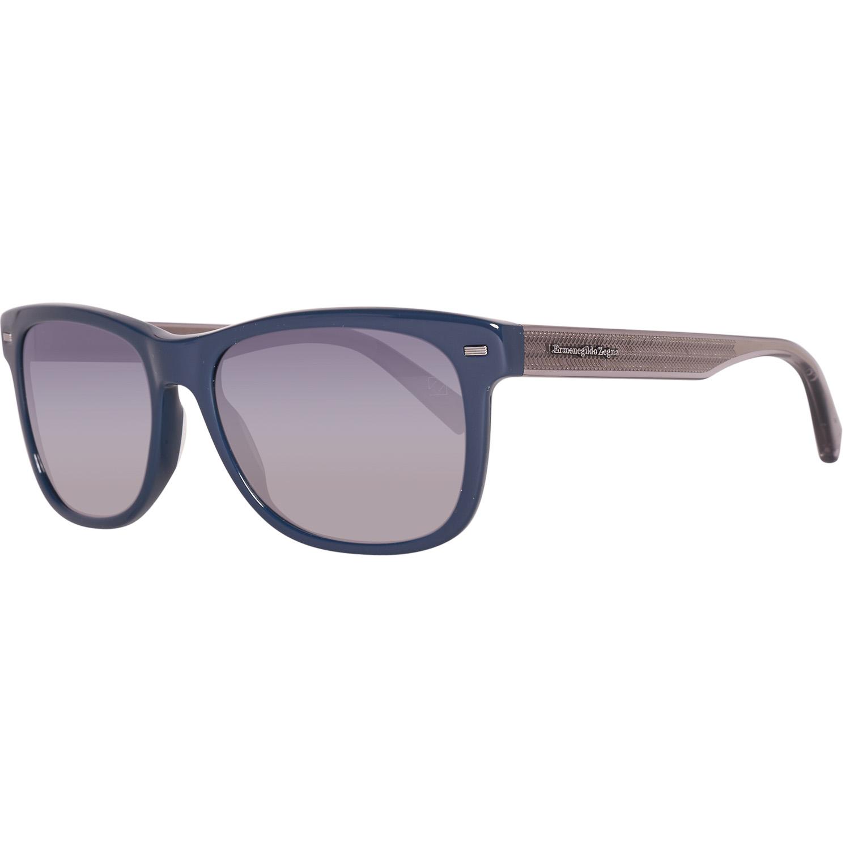 Ermenegildo Zegna Sunglasses EZ0028 92B 54 Blue