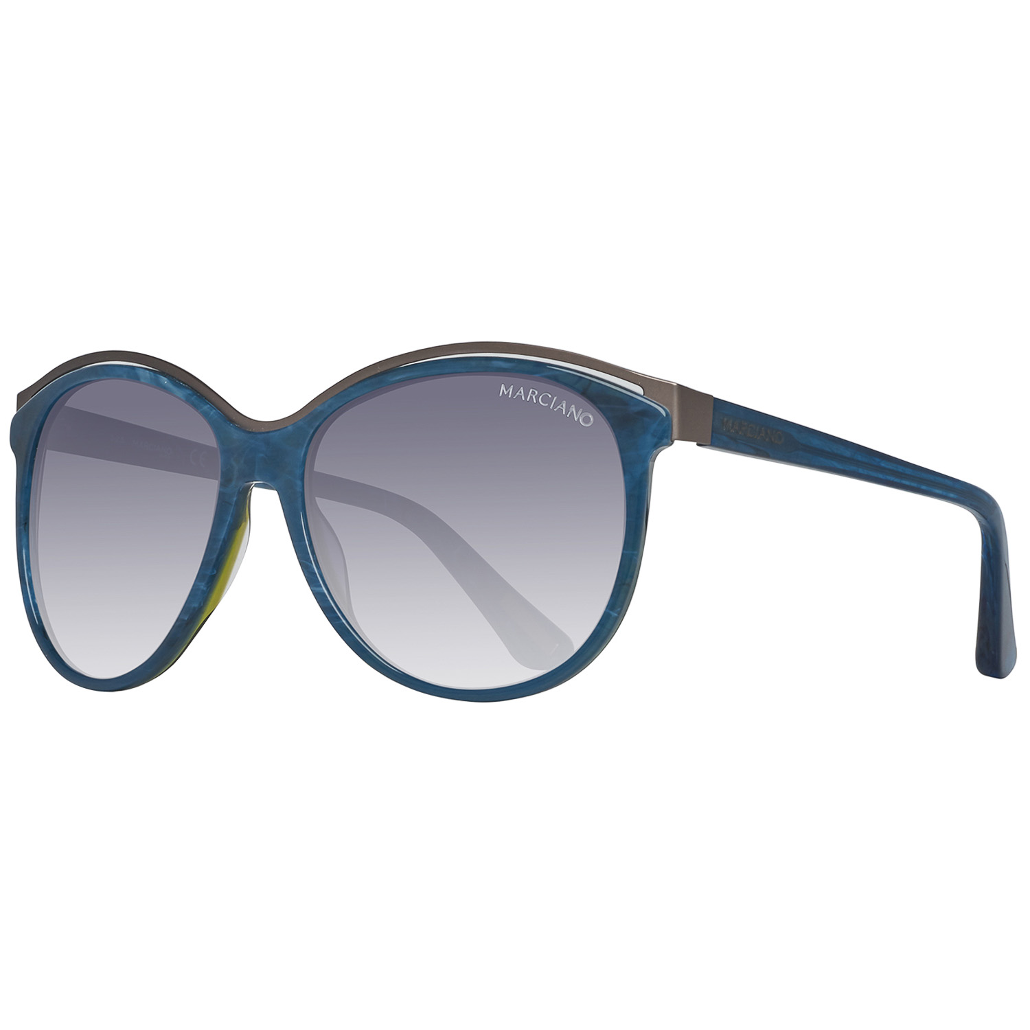 Guess By Marciano Sunglasses GM0744 92B 57 Blue