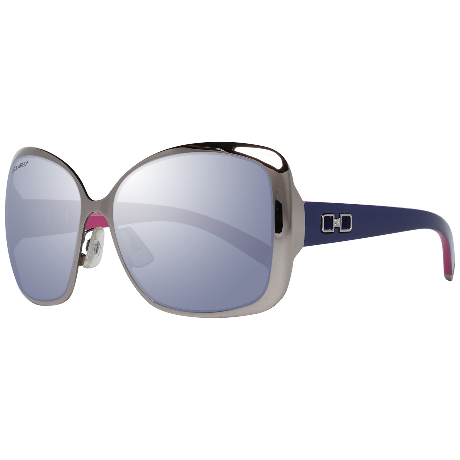 Dsquared2 Sunglasses DQ0053 14Z 58 Gunmetal
