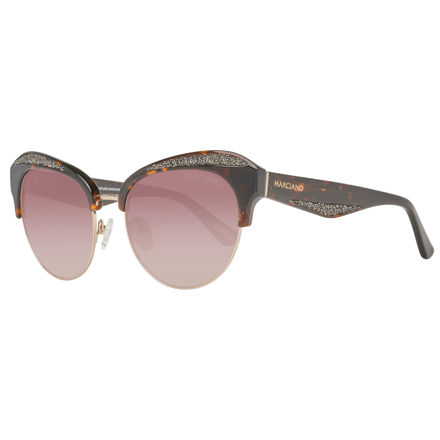 Guess by Marciano Sunglasses GM0777 52F 55 Brown