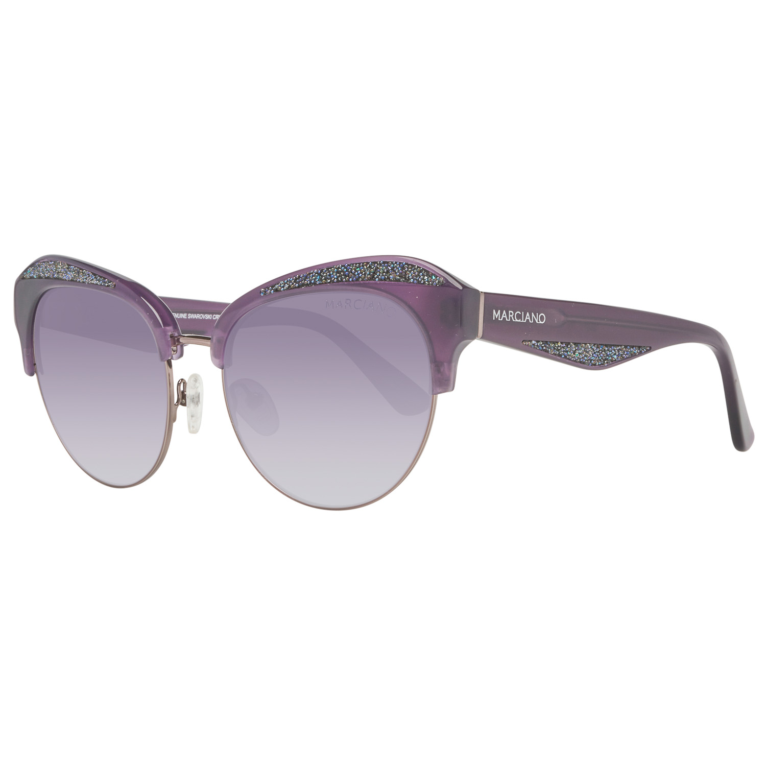 Guess by Marciano Sunglasses GM0777 78B 55 Purple