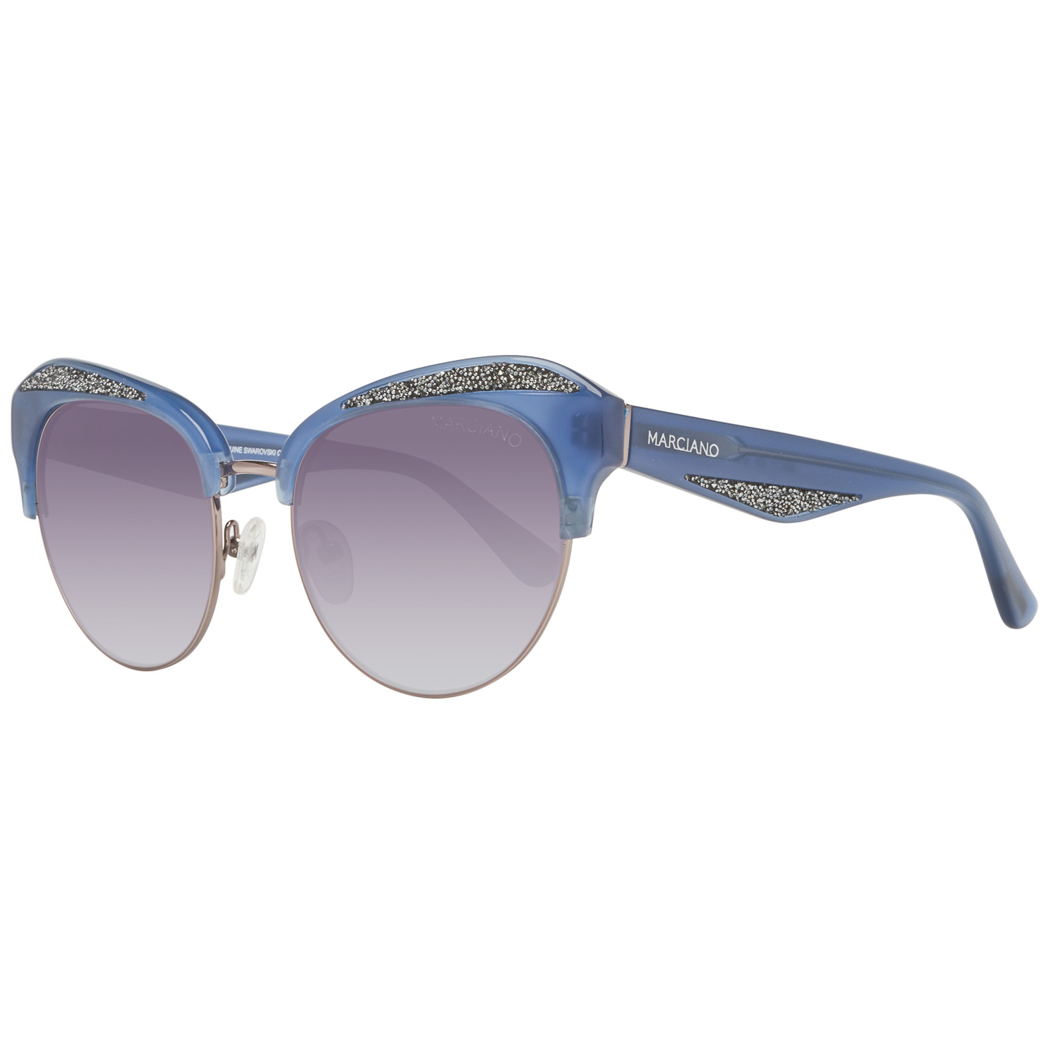 Guess by Marciano Sunglasses GM0777 90B 55 Silver