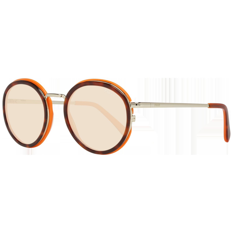 Emilio Pucci Sunglasses EP0046-O 54E 49 Brown
