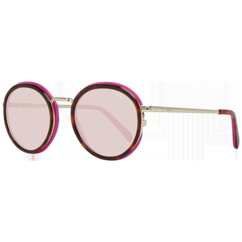 Emilio Pucci Sunglasses EP0046-O 55Y 49 Brown