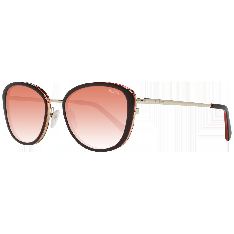 Emilio Pucci Sunglasses EP0047-O 05T 52 Black