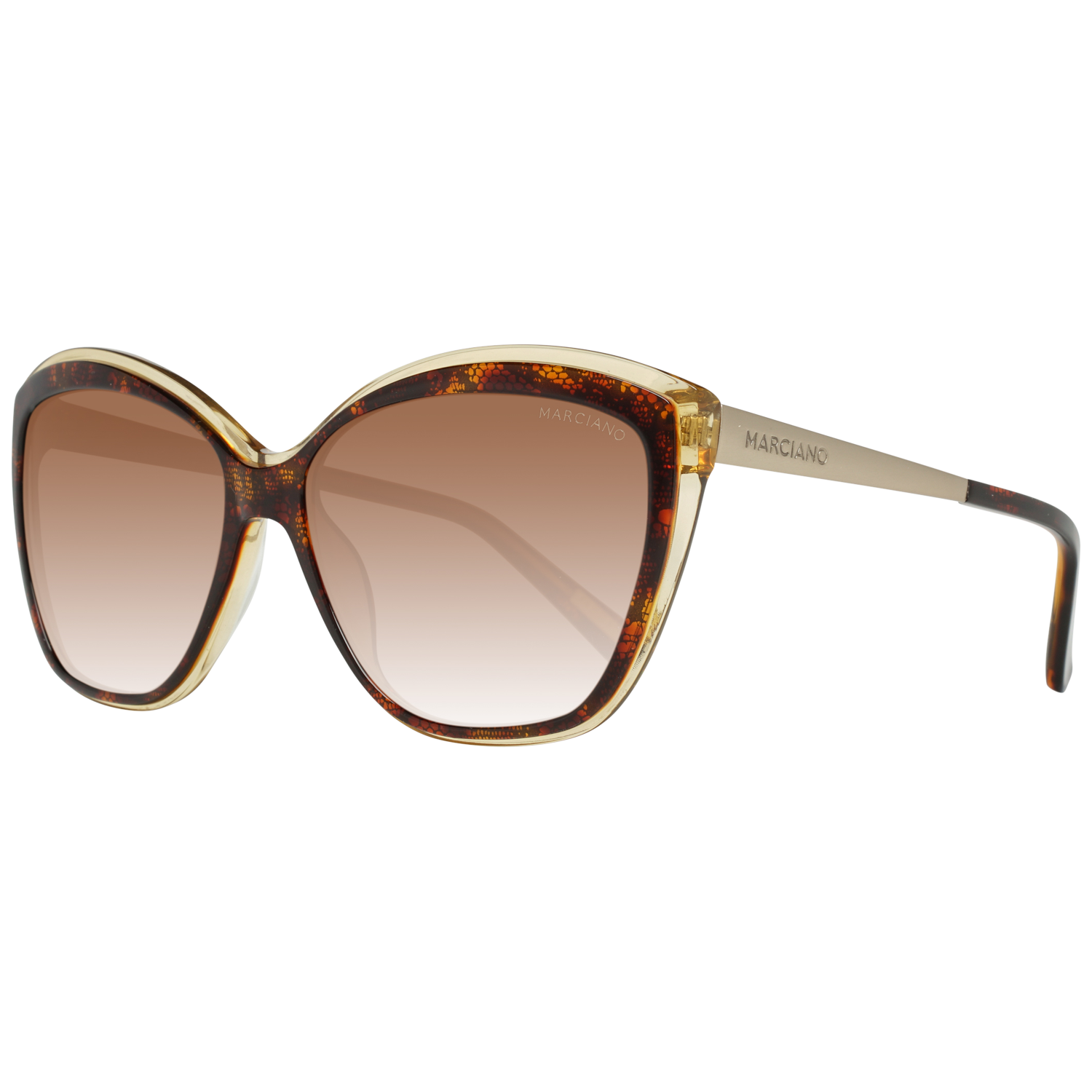 Guess by Marciano Sunglasses GM0738 50F 59 Brown