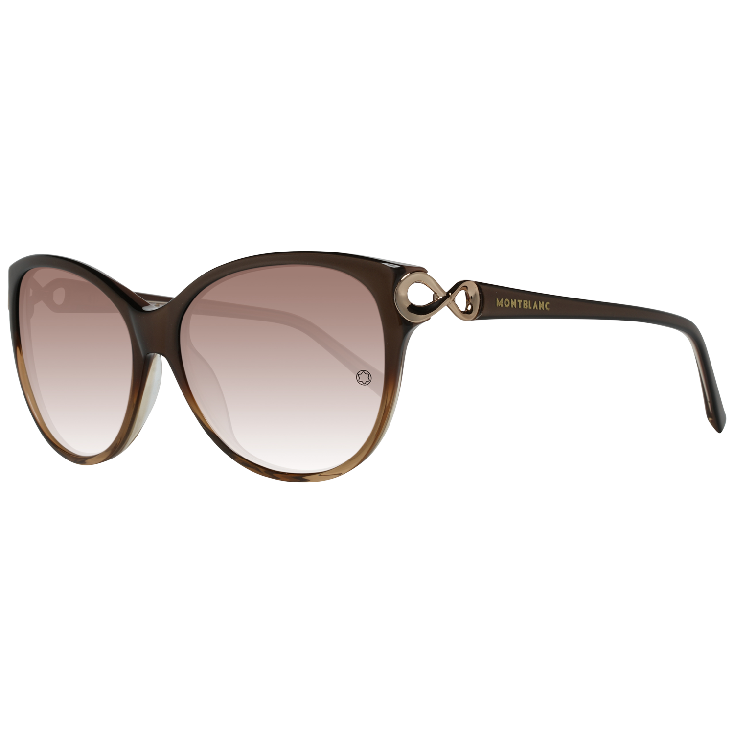 Montblanc Sunglasses MB469S 50F 57 Brown