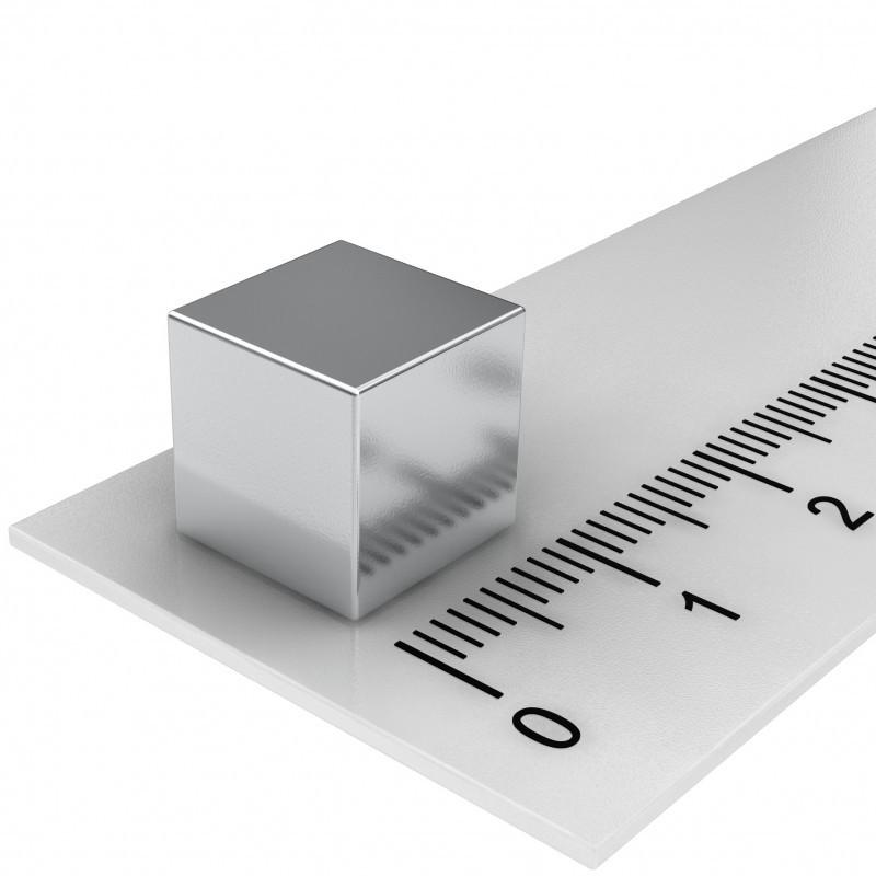 Würfelmagnet 10x10x10 mm Neodym