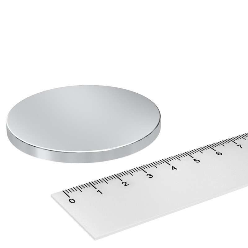 Scheibenmagnet 60x5 mm Neodym
