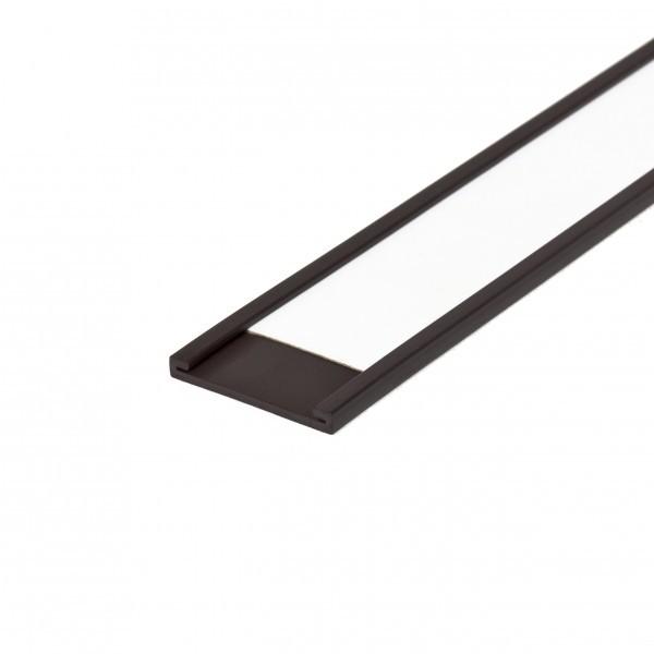 Magnetische Etikettenleiste, C - Profil, 25 mm Breite inkl. Etiketten