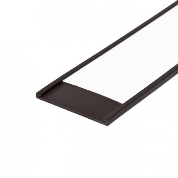 Magnetische Etikettenleiste, C - Profil, 40 mm Breite inkl. Etiketten