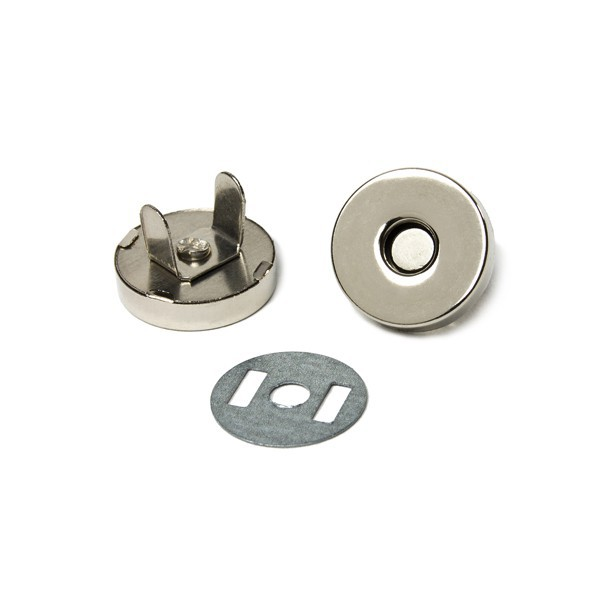 Magnetic button, Ø 18 mm, magnetic clasps