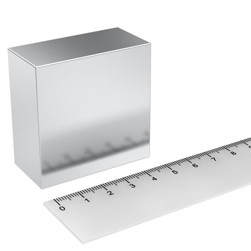 Quadermagnet 50x50x25 mm Neodym