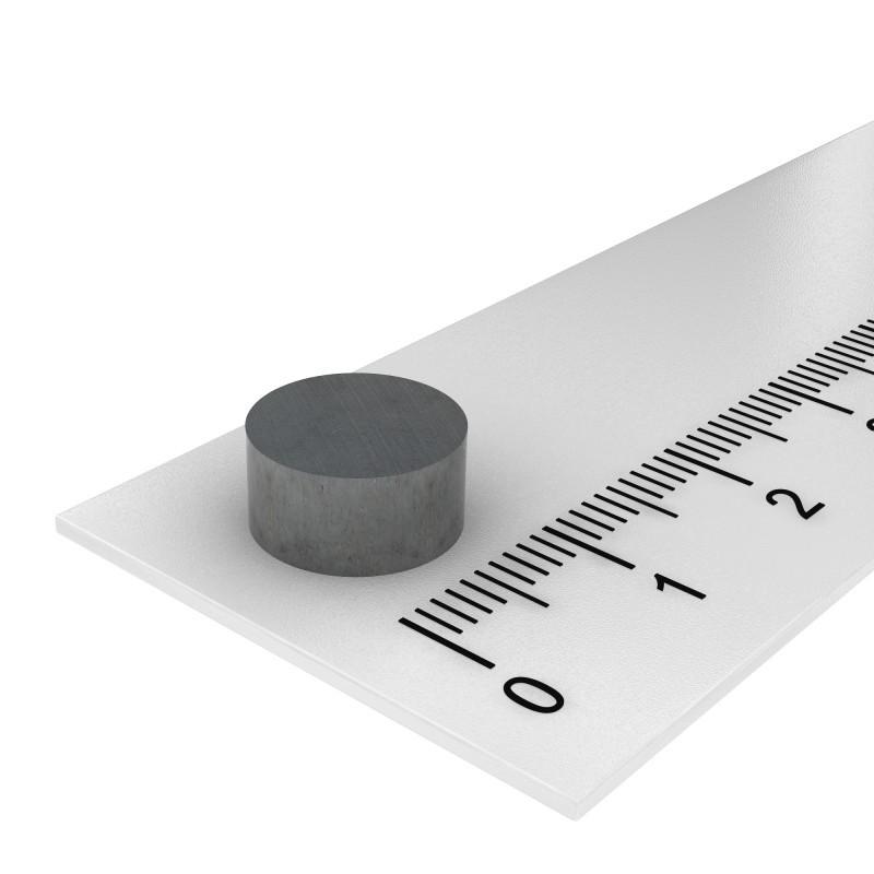 10x5 mm ferrite magnet, up to 250°C