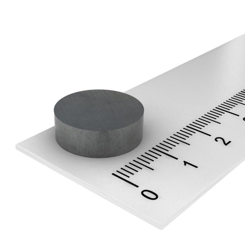 15x5 mm ferrite magnet, up to 250°C