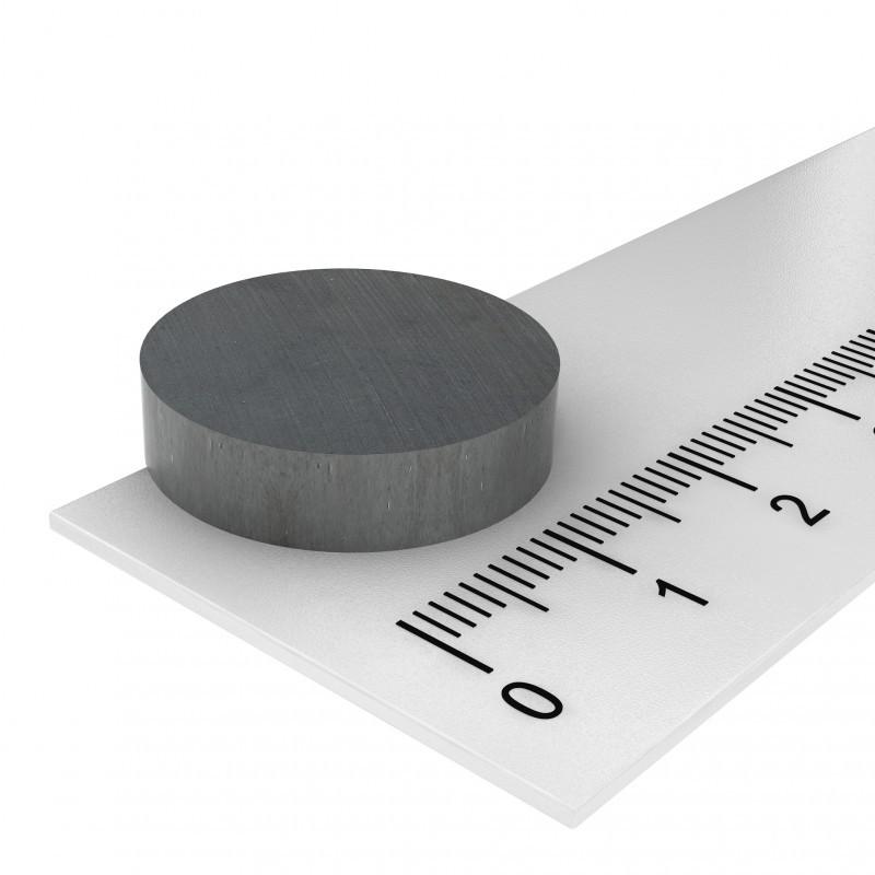 20x5 mm ferrite magnet, up to 250°C