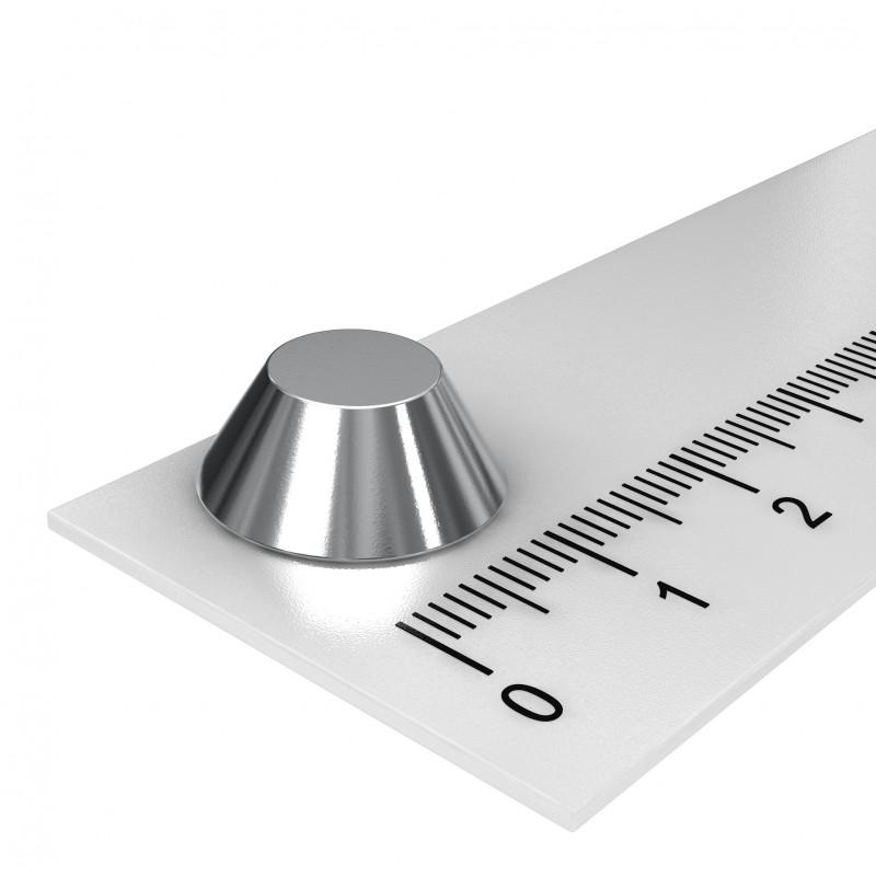 Konusmagnet 15x8x6 mm