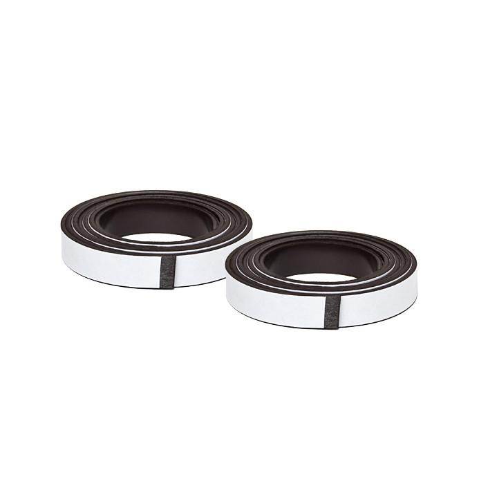 2 Selbstklebende Magnetbänder im Paar - 10x2000 mm