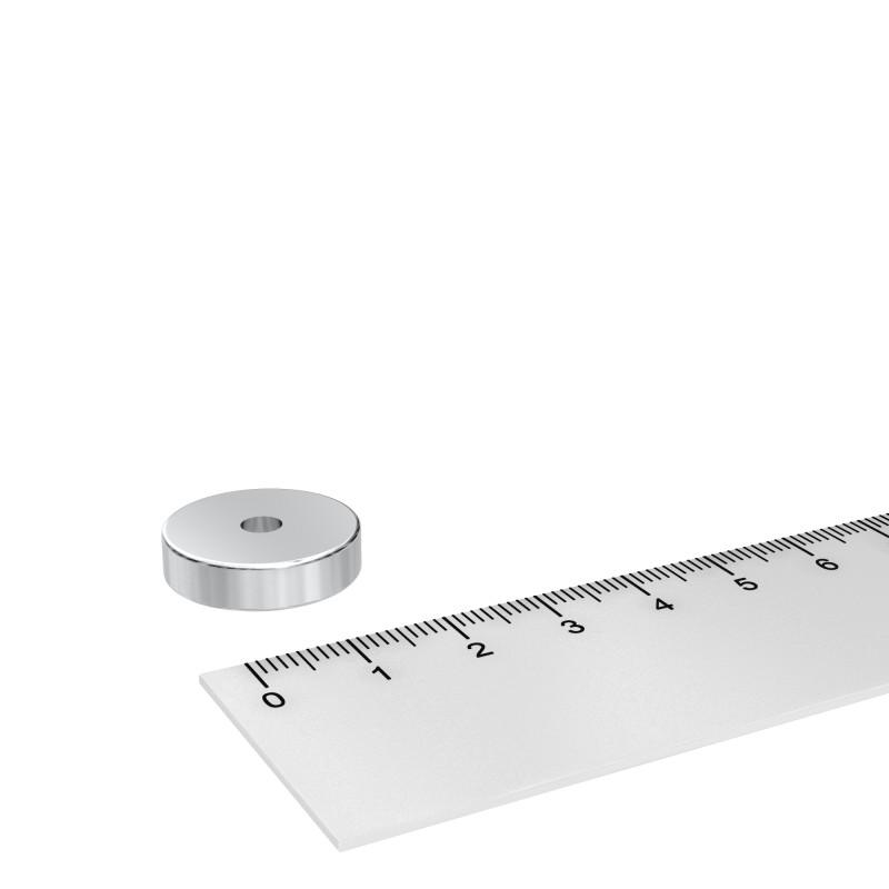 Ringmagnet 20x4 mm mit 4.5 mm Bohrung Neodym