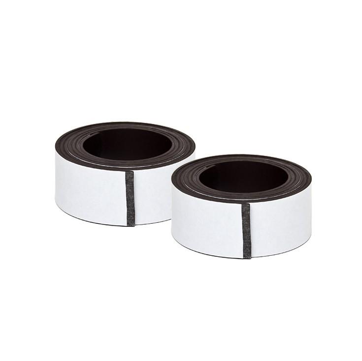 2 Selbstklebende Magnetbänder im Paar - 25x2000 mm