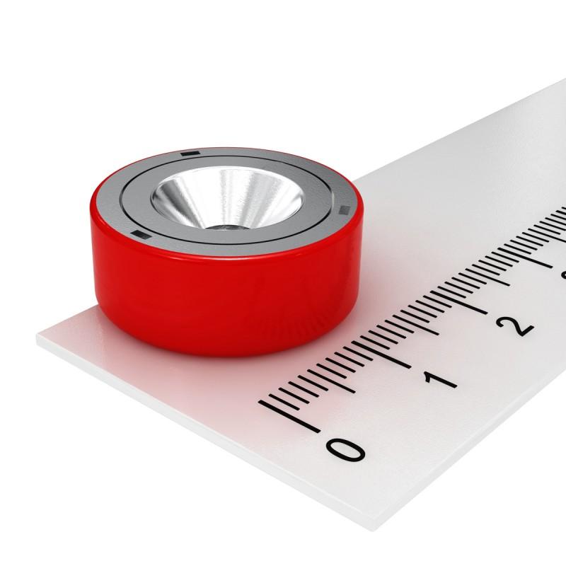 AlNiCo Hochtemperatur Flachgreifer Magnete - Diverse Größen