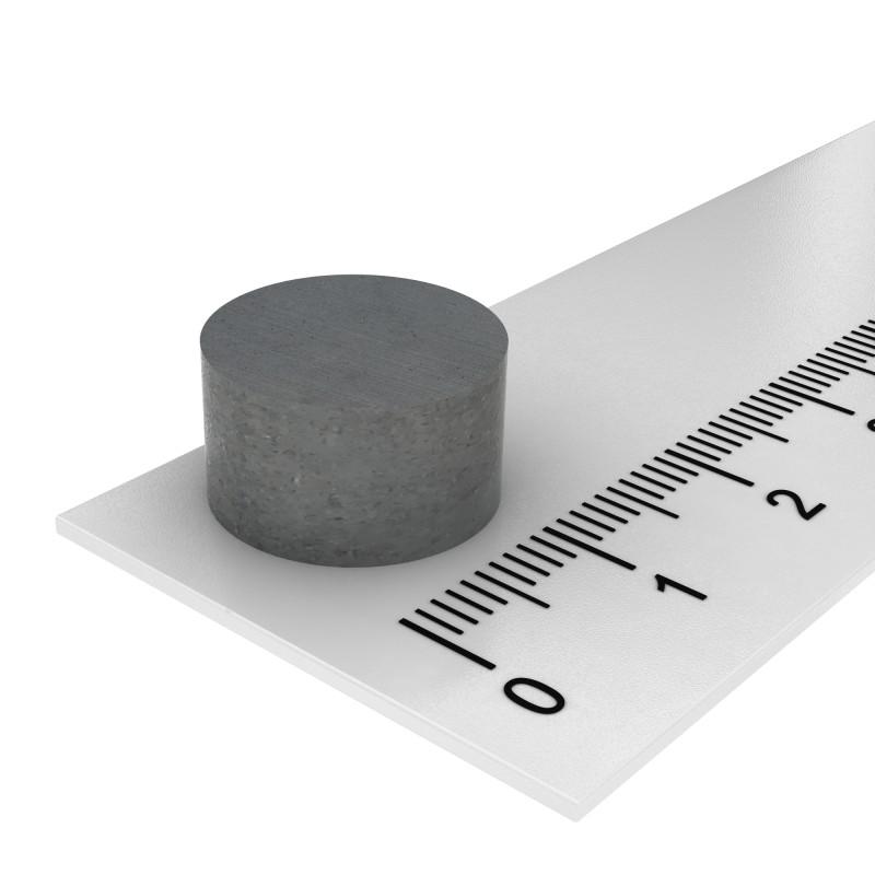 Scheibenmagnet 14x8 mm Ferrit