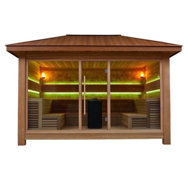AWT Sauna LT1400B rote Zeder 400x350 15.8kW Vitra