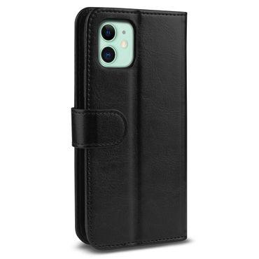 Handy Hülle für Apple iPhone 11 Schwarz Schutzhülle Flip Case Tasche Handyhülle – Bild 10