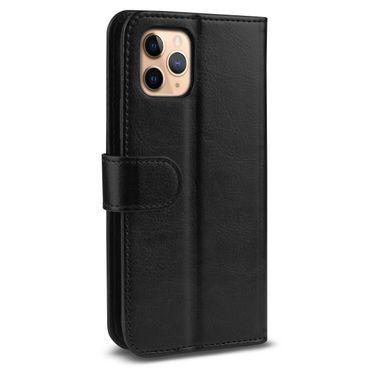 Handy Hülle Apple iPhone 11 Pro Max Schwarz Schutzhülle Flip Case Tasche Cover – Bild 10