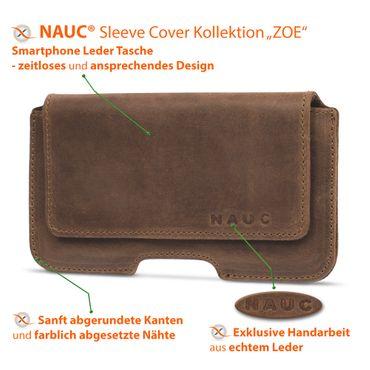 Leder Tasche Apple iPhone 11 Pro Handy Hülle Sleeve Cover Schutzhülle Lederhülle – Bild 19