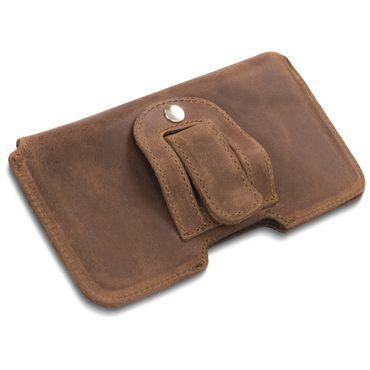 Leder Tasche Apple iPhone 11 Pro Handy Hülle Sleeve Cover Schutzhülle Lederhülle – Bild 22