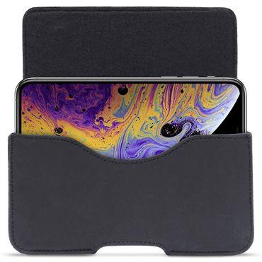 Leder Tasche für Apple iPhone Xs Hülle Sleeve Schutzhülle Handy Case Cover – Bild 17