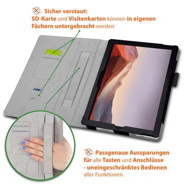 Tablet Tasche für Microsoft Surface Pro 7 Hülle Schutzhülle Case Schutz Cover  – Bild 8