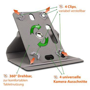 Schutz Tasche für Medion Lifetab X10609 Hülle Schutzhülle Cover Case 360 Drehbar – Bild 10