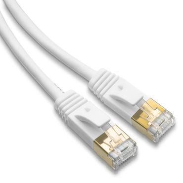 Netzwerkkabel 5m Cat6A Patchkabel Internet Ethernet LAN DSL Netzwerk F/FTP Kabel – Bild 3
