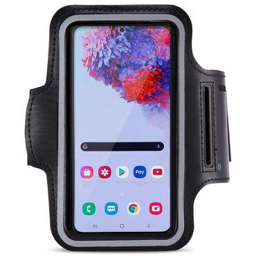 Handy Hülle Samsung Galaxy S20 Ultra Jogging Tasche Schwarz Fitness Armband Case – Bild 1