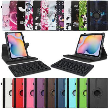 Tablet Hülle Tastatur Tasche Samsung Galaxy Tab S6 Lite Schutzhülle Bluetooth – Bild 1