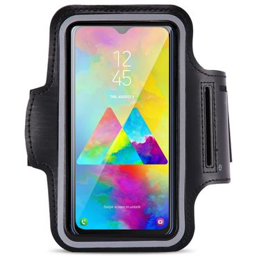 Schutzhülle Samsung Galaxy M21 / M30s Jogging Tasche Hülle Sportarmband Fitness – Bild 2