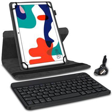 Tablet Schutz Hülle für Huawei MatePad Pro 10.8 Tastatur Tasche Bluetooth QWERTZ – Bild 4
