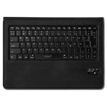 Medion Lifetab P10710 Tastatur Bluetooth QWERTZ Tablet Hülle Tasche Schutzhülle  – Bild 9