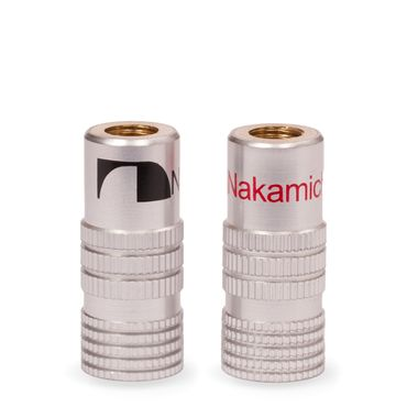8x High End Nakamichi Bananenstecker Bananas für Kabel bis 6mm² 24K vergoldet – Bild 8
