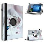 Tablet Hülle 7 - 8 Zoll Tasche Schutzhülle Case Schutz Universal Cover Drehbar 001