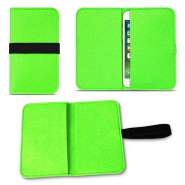 Filz Hülle Apple iPhone SE 5 5S 5C Tasche Cover Case Handy Flip Filztasche  – Bild 20