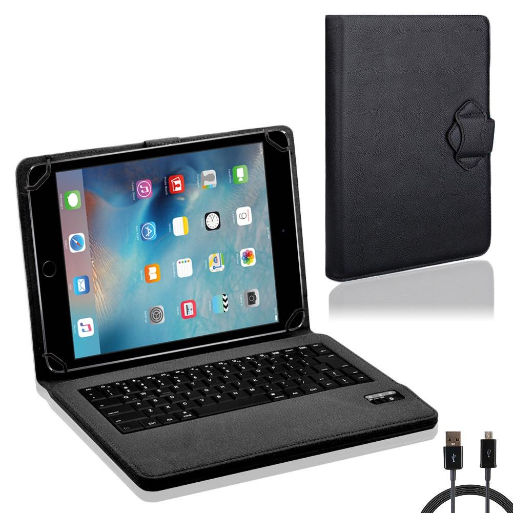 nauc h lle tasche keyboard case f r apple ipad air 2 tastatur bluetooth qwertz standfunktion. Black Bedroom Furniture Sets. Home Design Ideas