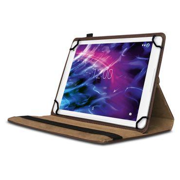 Medion Lifetab P9702 Hülle Tasche Tablet Braun Cover Case Schutzhülle Drehbar – Bild 2