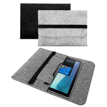 Sleeve Tasche Samsung Galaxy Tab 4 / 3 10.1 Filz Hülle Case Cover Schutzhülle