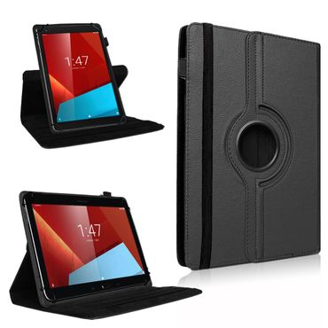 Schutz Tasche Vodafone Smart Tab 4 / 4G Hülle Tablet Schutzhülle Kunstleder Cover Case Schutztasche Standfunktion 360° Drehbar Etui Zubehör – Bild 1