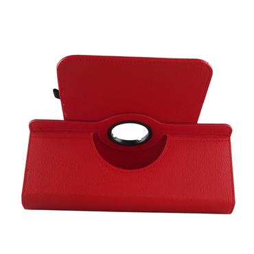 Schutz Tasche Vodafone Smart Tab 4 / 4G Hülle Tablet Schutzhülle Kunstleder Cover Case Schutztasche Standfunktion 360° Drehbar Etui Zubehör Rot – Bild 6