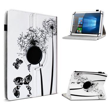 Tablet Hülle 10 - 10.1 Zoll Universal Tasche Schutzhülle Case Cover 360° Drehbar