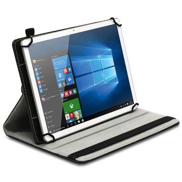 10 - 10.1 Zoll Universal Tablet Schutz Tasche Hülle Case Cover 360° Leder-Optik – Bild 2